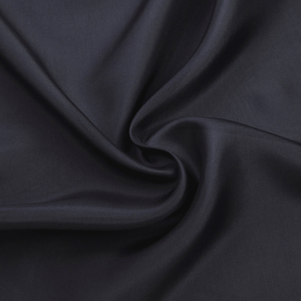 Fathi Dark Grey Silk Organza