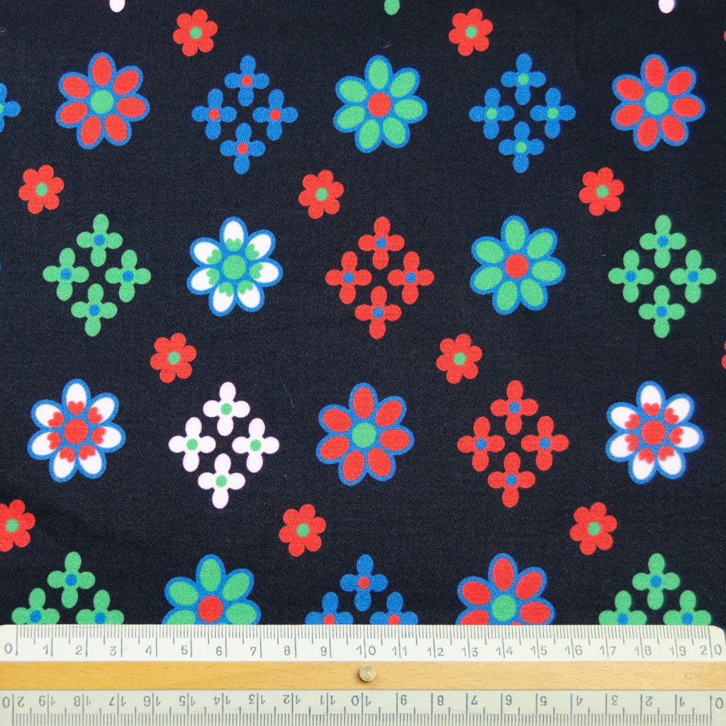 Laqueta Floral Cotton Stretch