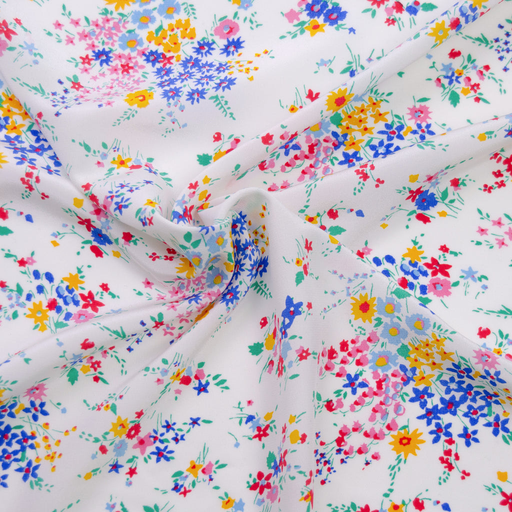 Larry Flower Printed Silk