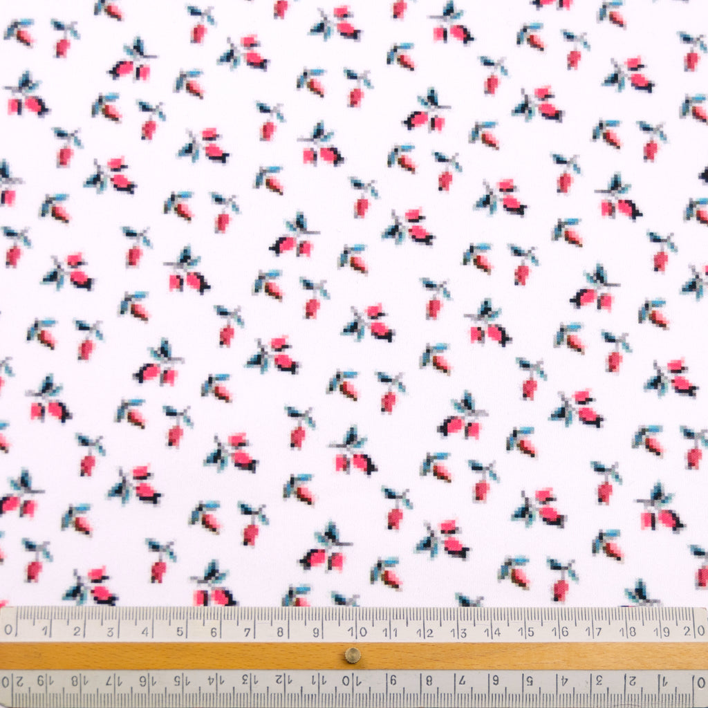 Florenza Floral Print Polyester