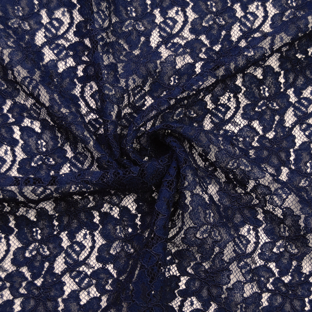 Isaline Navy Lace