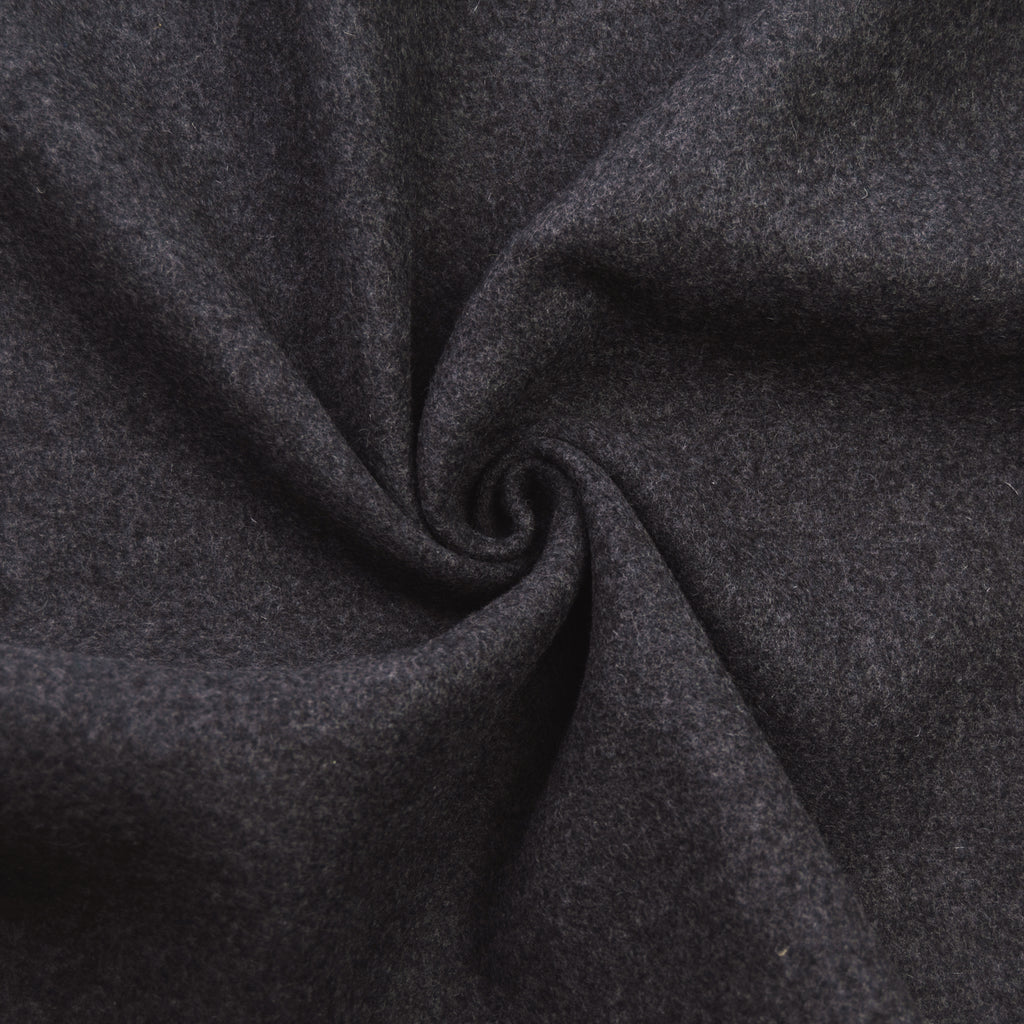 Dagmar Solid Dark Grey Wool