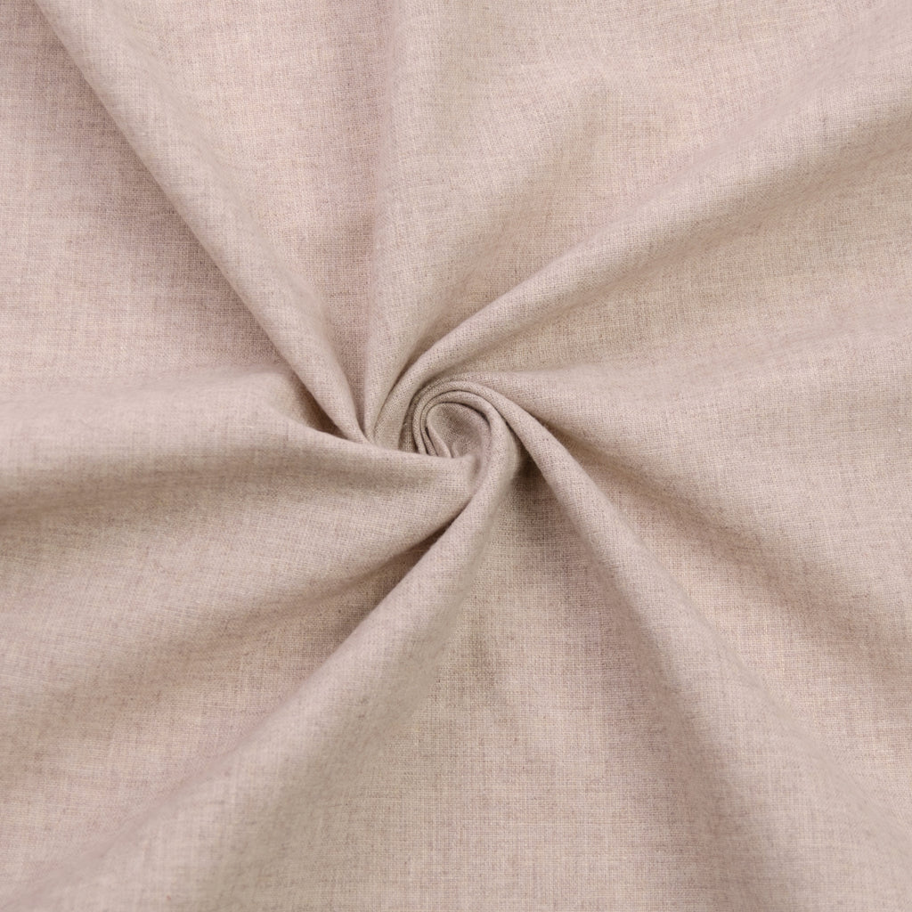 Isiris Beige Cotton Flannelette