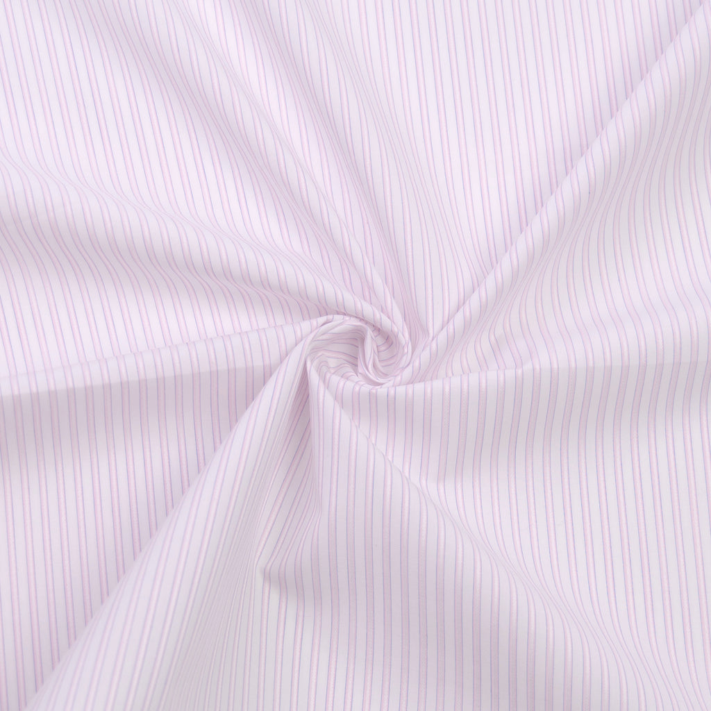 Dannon Pink & White Stripe Cotton