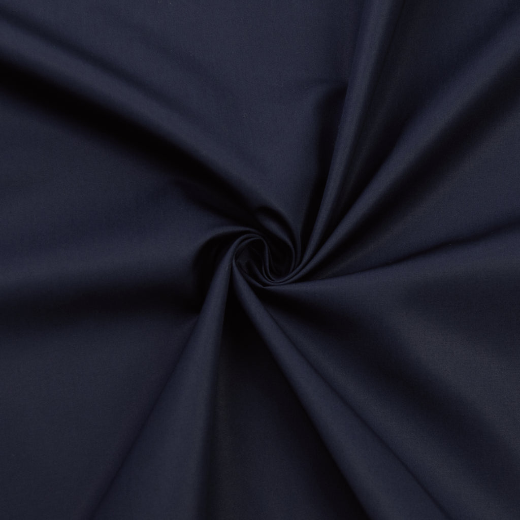 Lillian Navy Blue Cotton