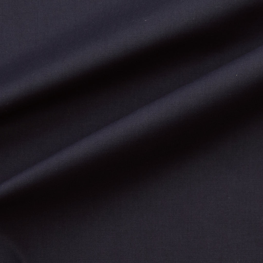 Darena Navy Blue Cotton Stretch