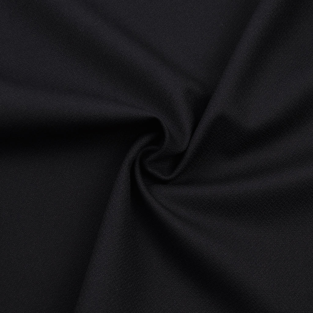 Leiko Black Wool Dormeuil