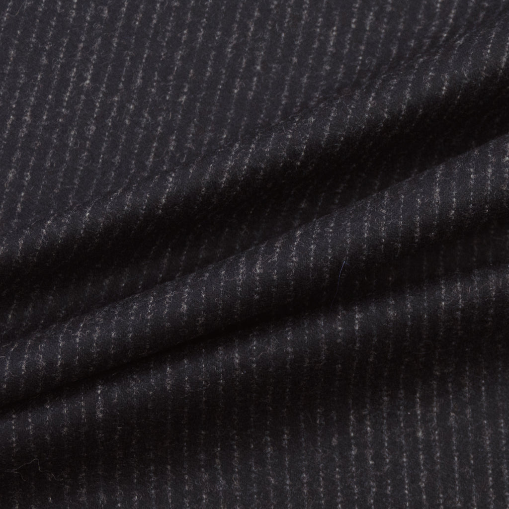 Inigo Dark Grey Stripe Wool