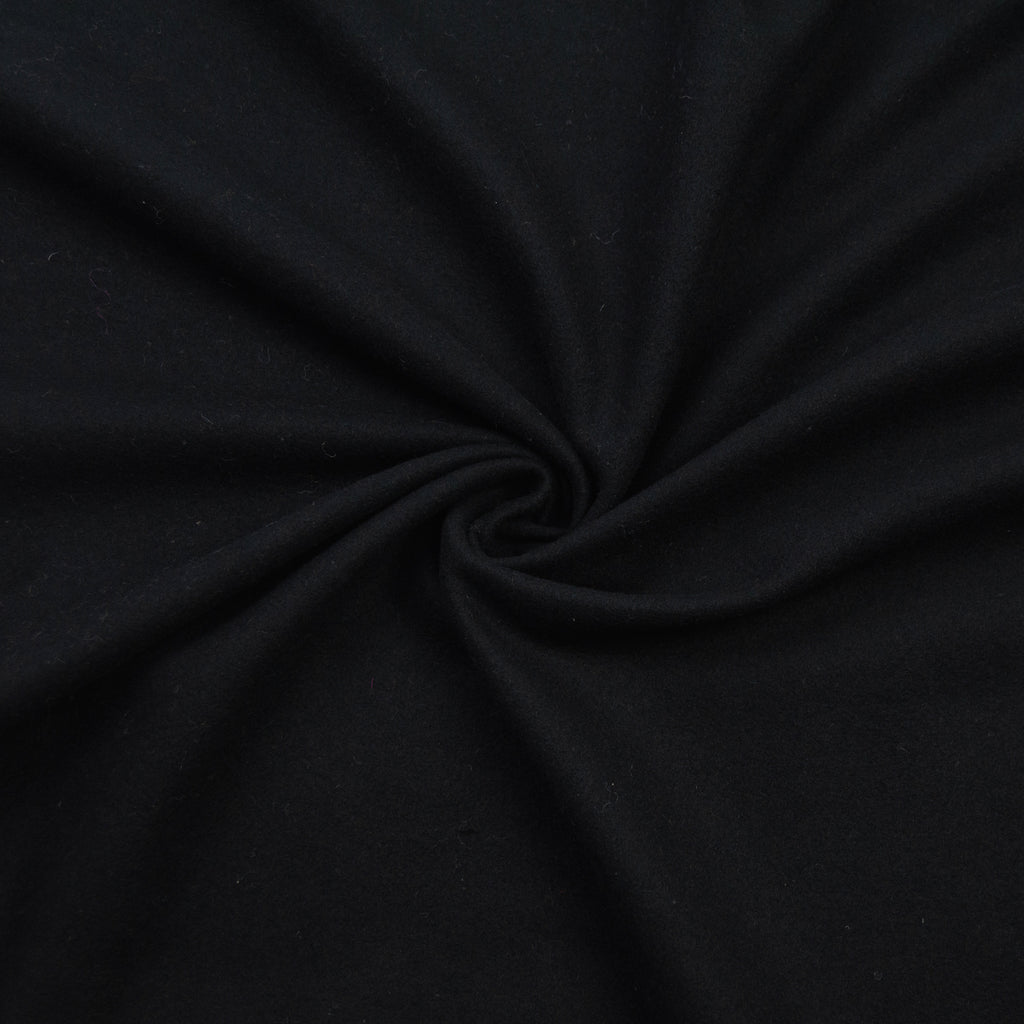 Dagny Ebony Black Wool