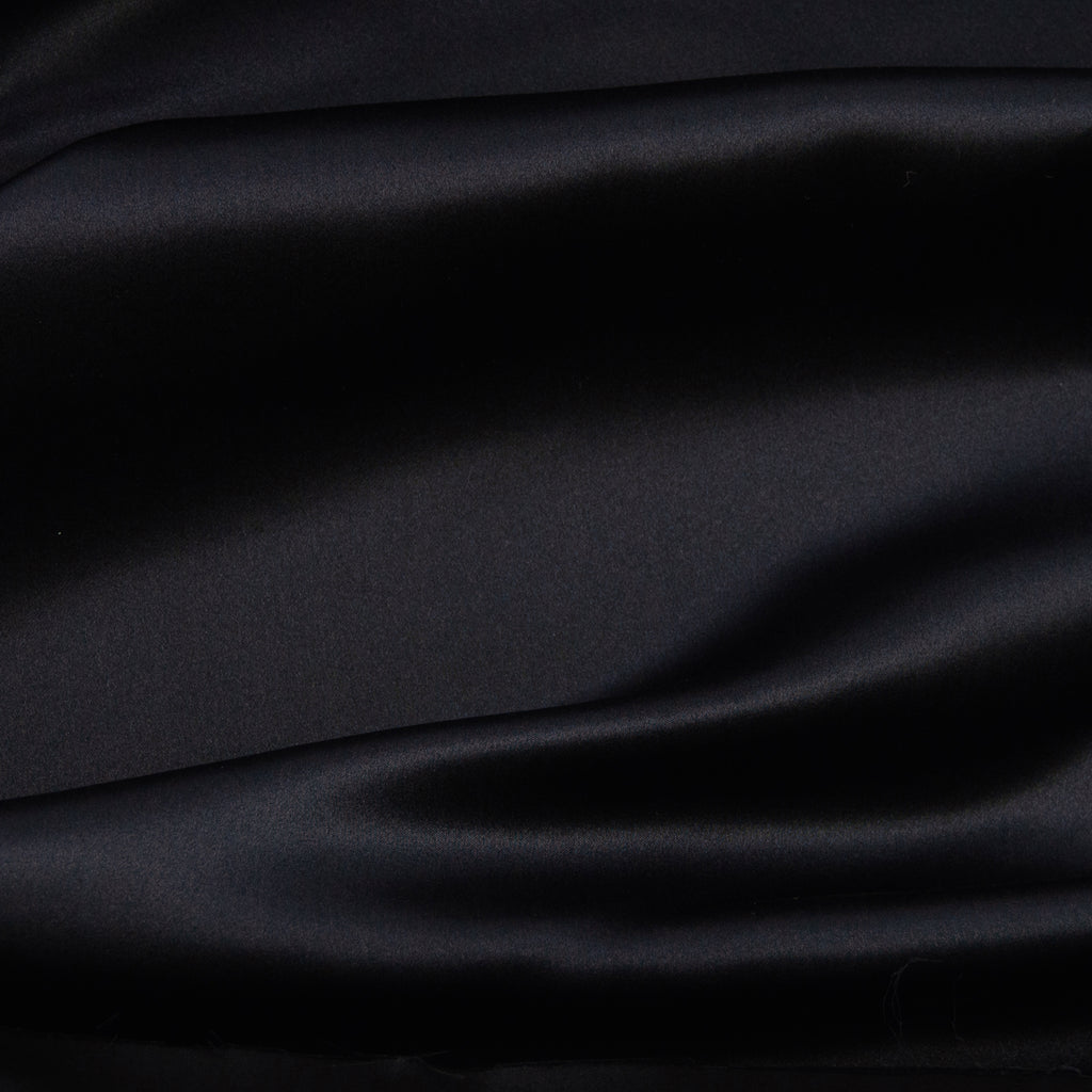 Fatma Black Silk