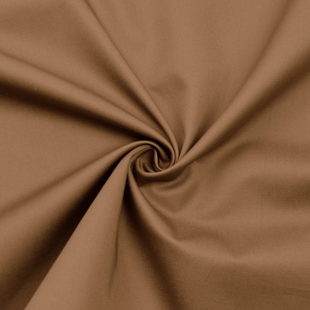Fizza Camel Cotton Twill