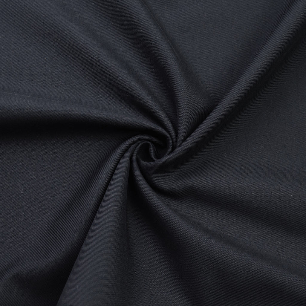 Darius Dark Grey Twill Cotton