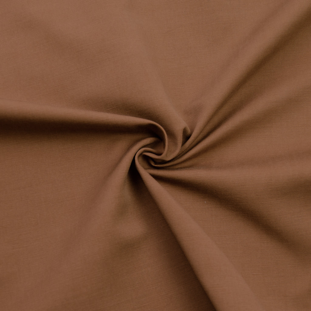 Franz Chocolate Brown Cotton