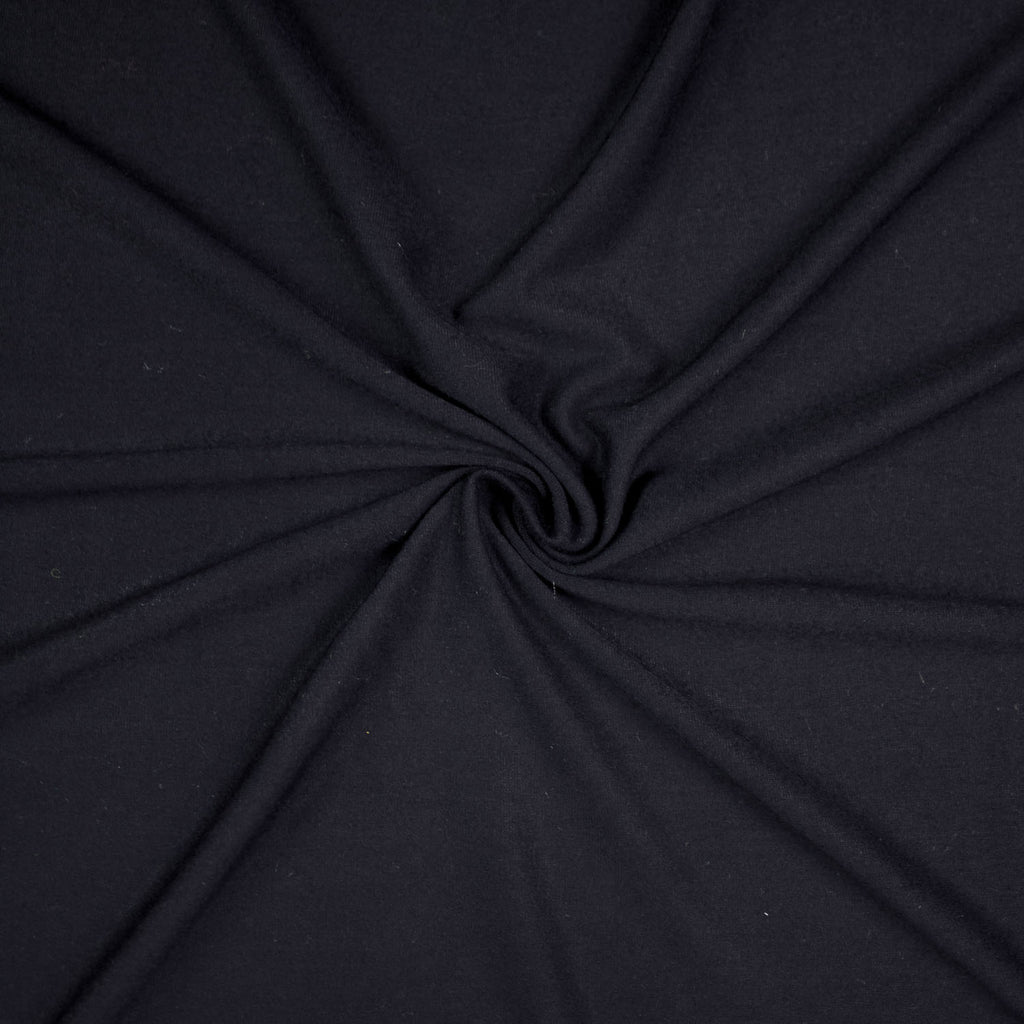 Vick Navy Blue Viscose Jersey