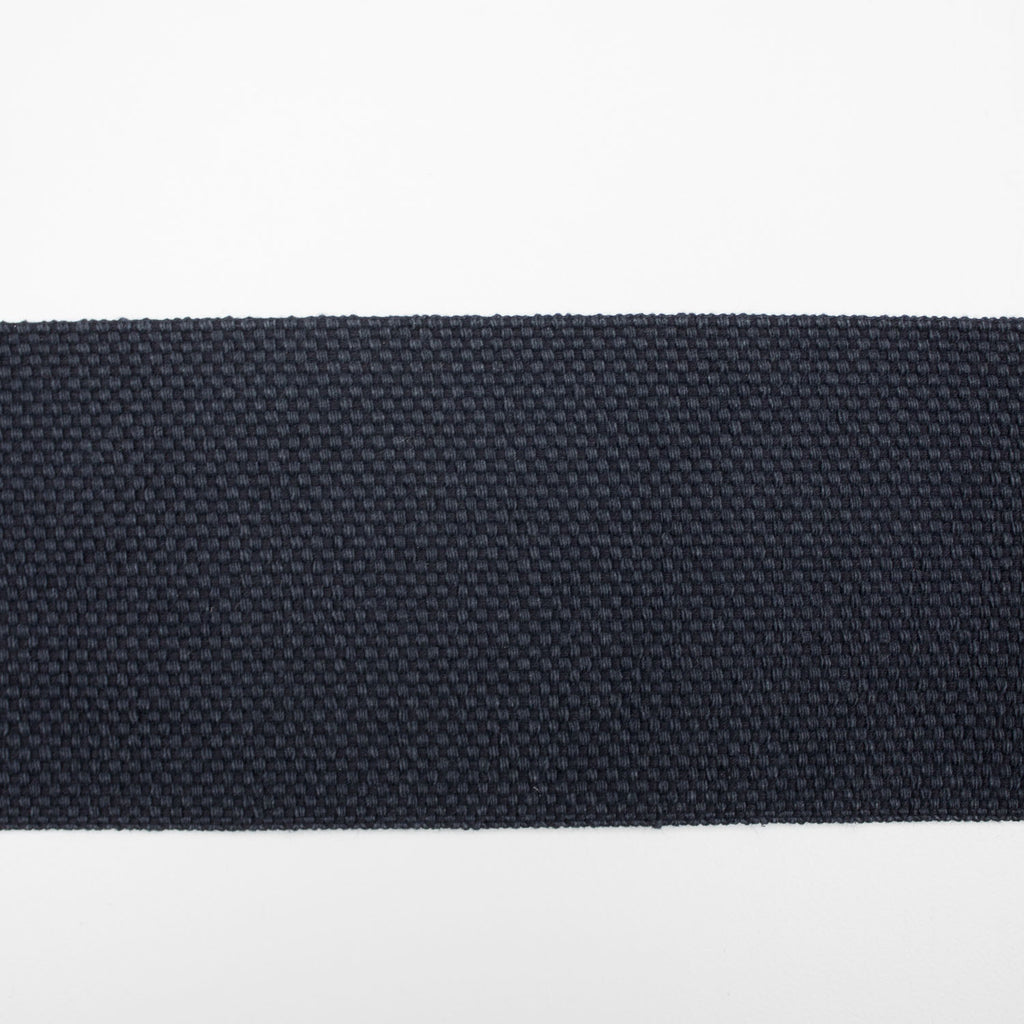 Navy Cotton Webbing Tape 70mm