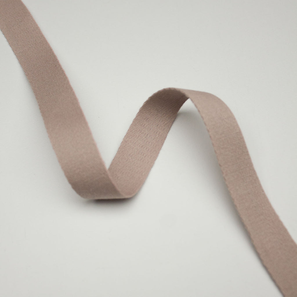 Pink Cotton Webbing Tape 20mm