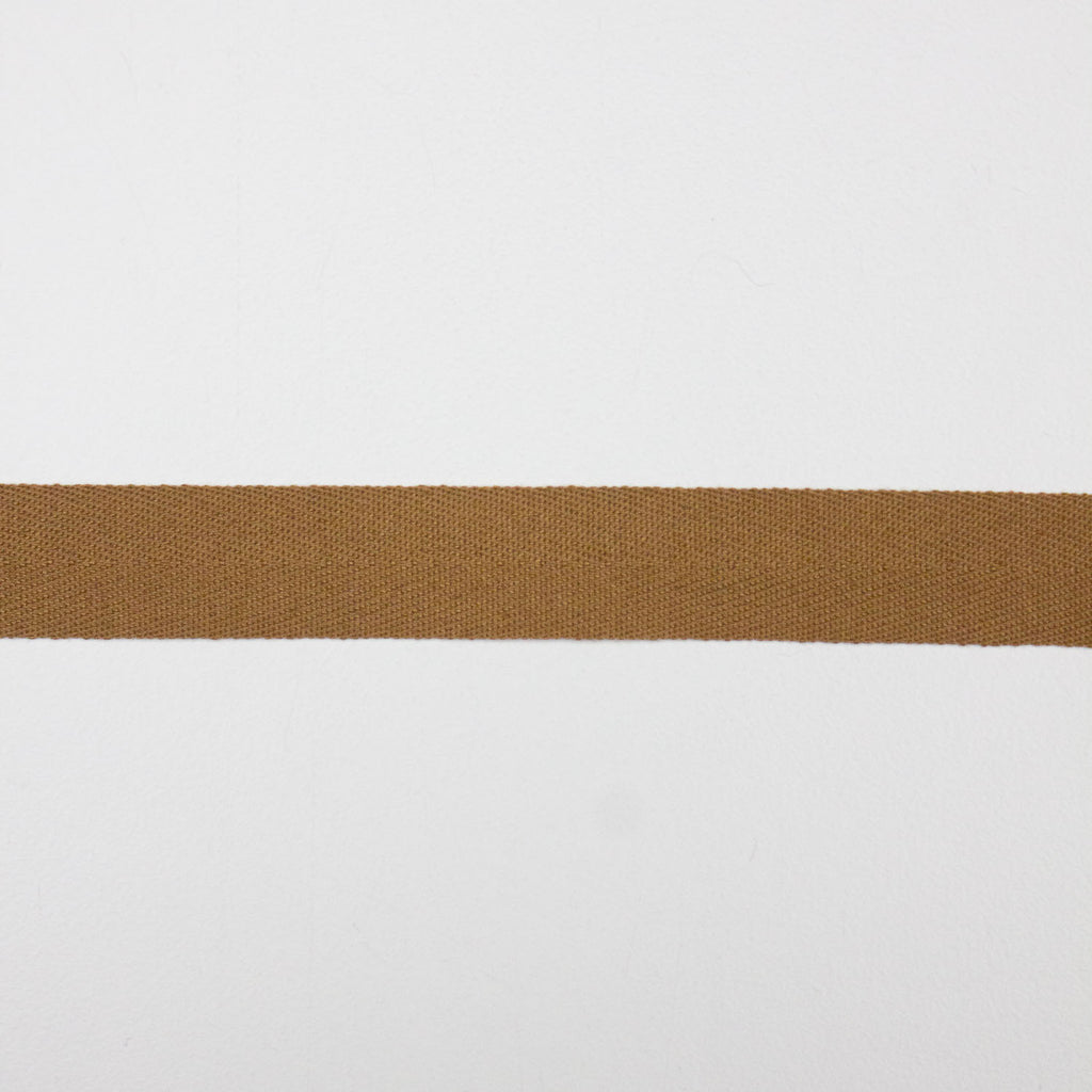 Camel Cotton Twill Tape 15mm