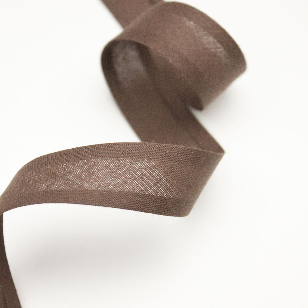 Brown Cotton Bias Tape 20mm
