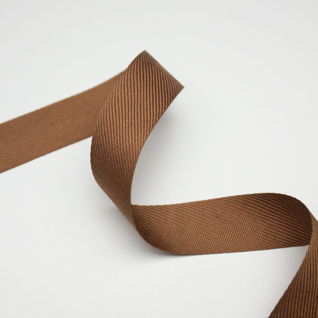 Brown Twill Tape 20mm