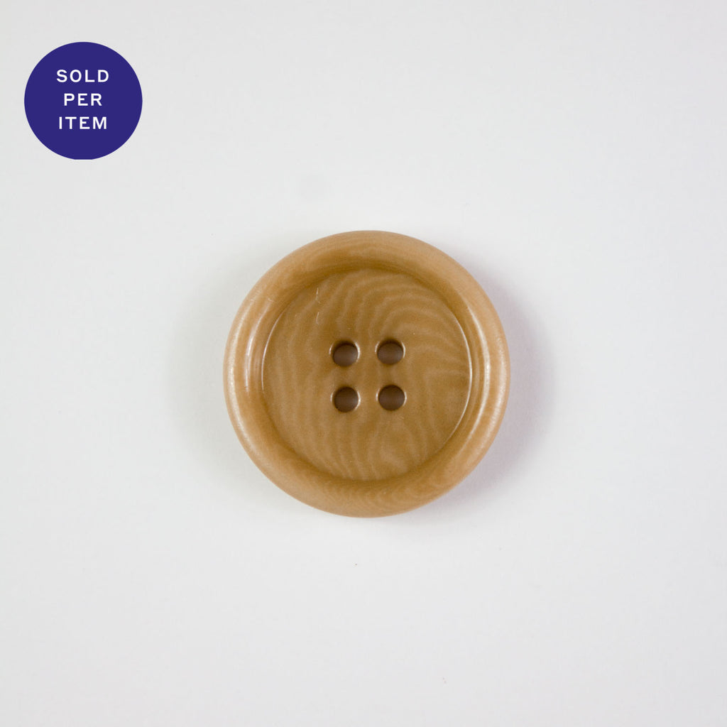 Peanut 4-Hole Plastic Button