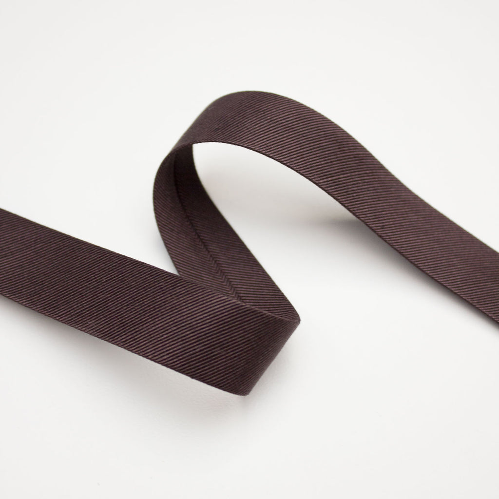 Brown Polyamide Bias Tape 20mm