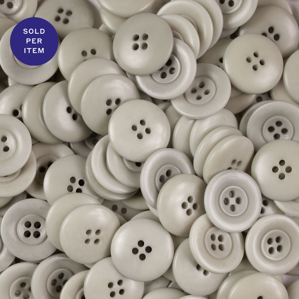 Coos Bay 4-Hole Plastic Button