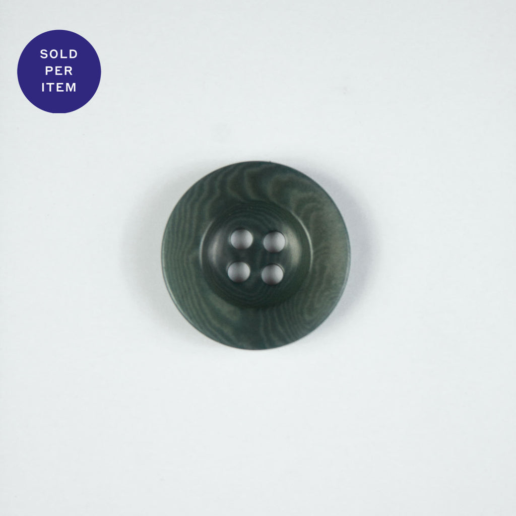 Forest Avio 4-Hole Plastic Button