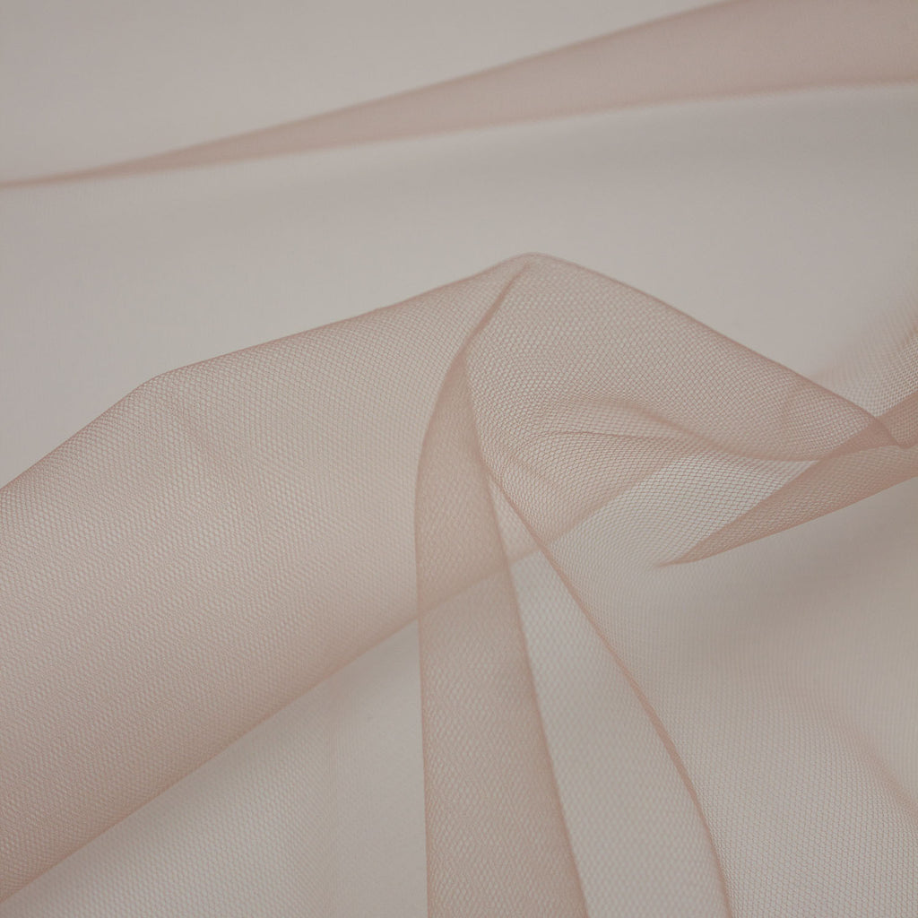 Damian Old Pink Polyester Tulle