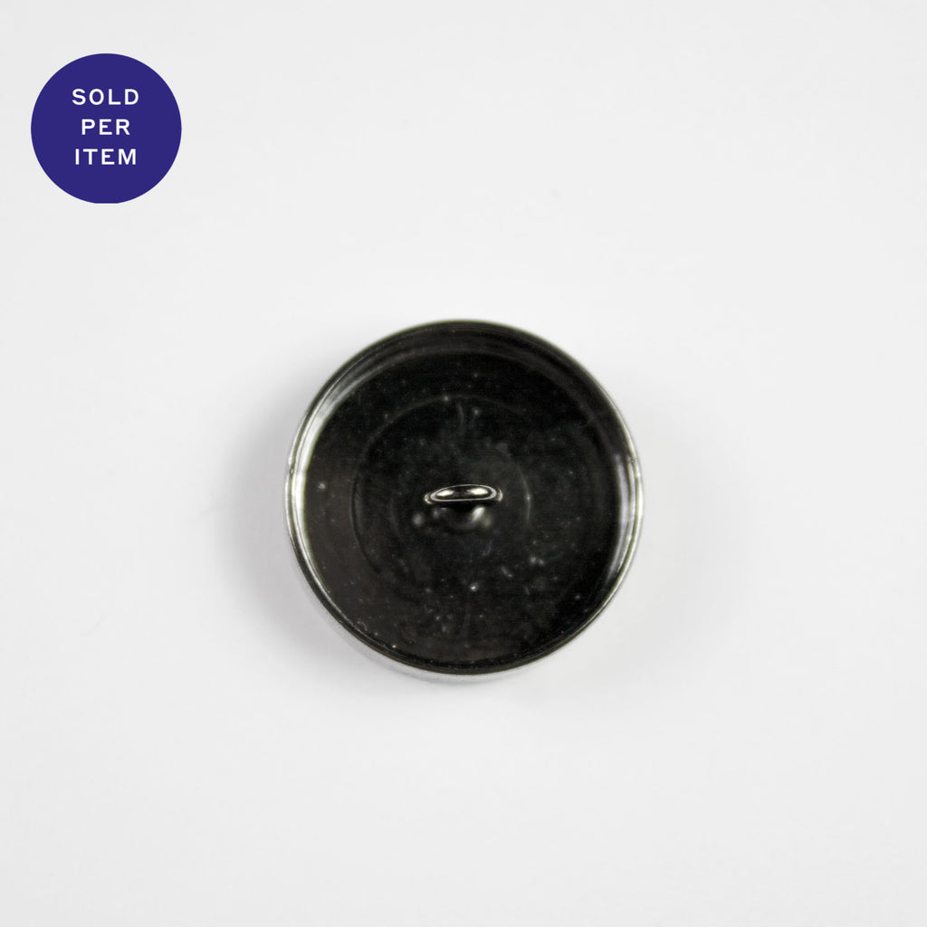 Silver Metal Button - 20mm