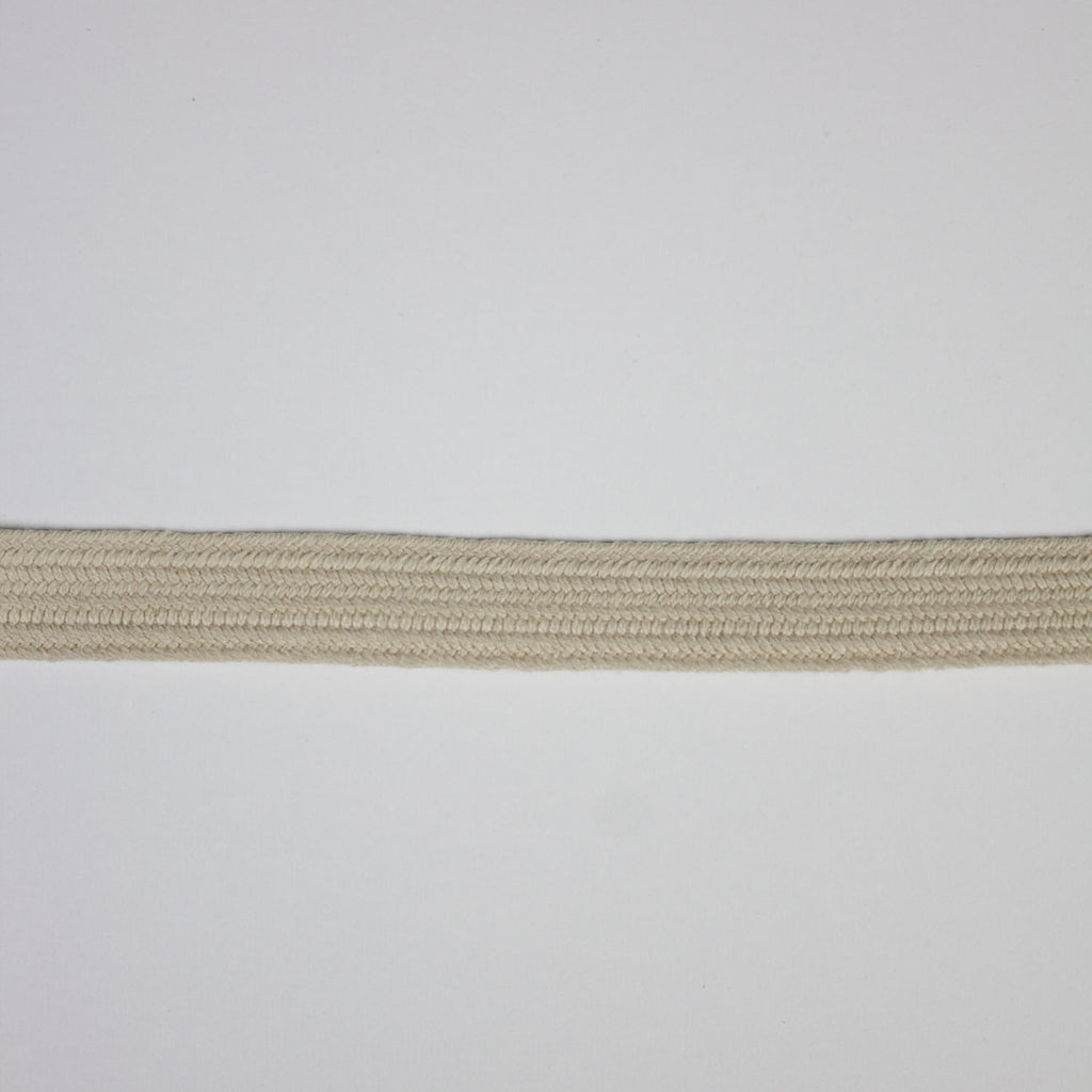 Beige Cotton Ribbon 10mm