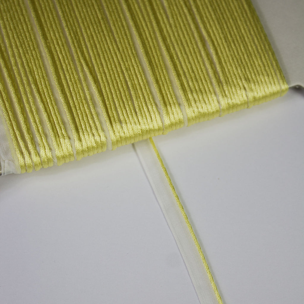 Yellow Piping Ribbon 5mm