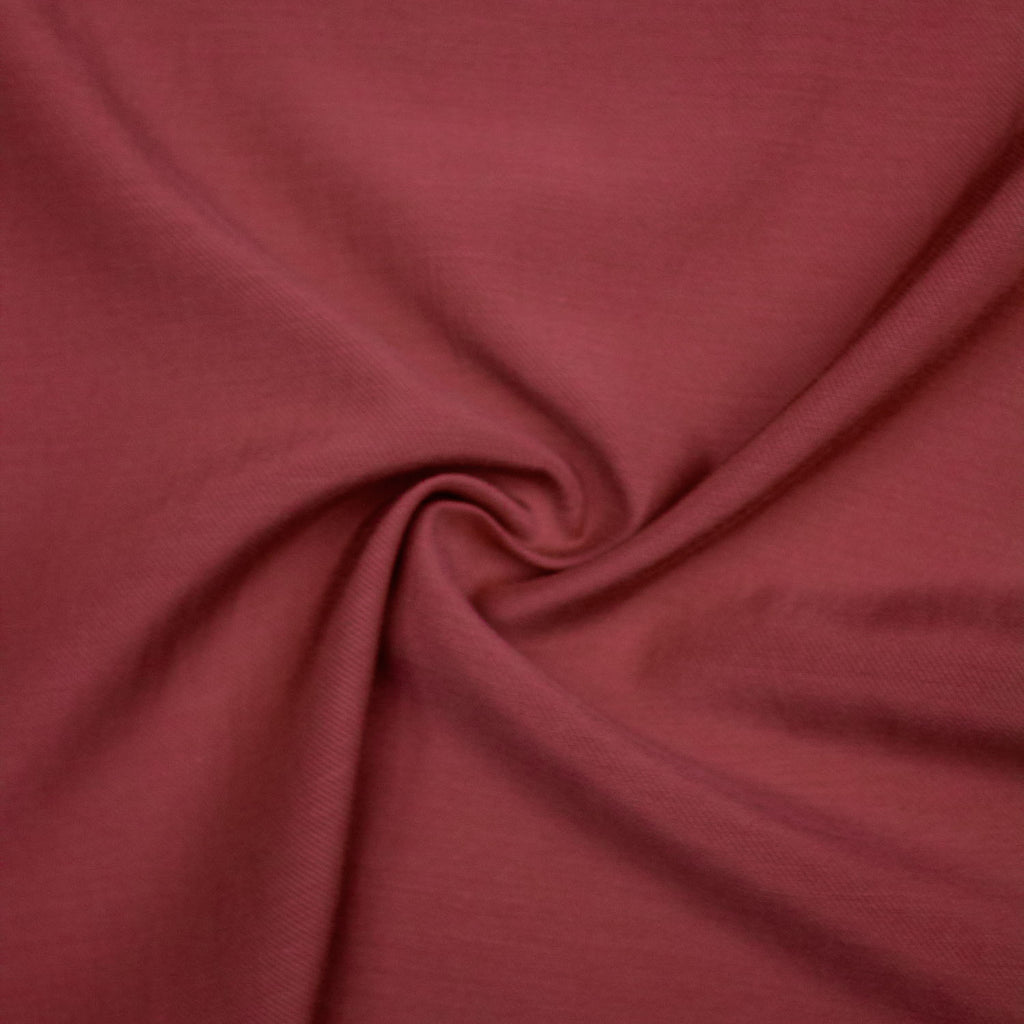 Giacomo Red Viscose Twill