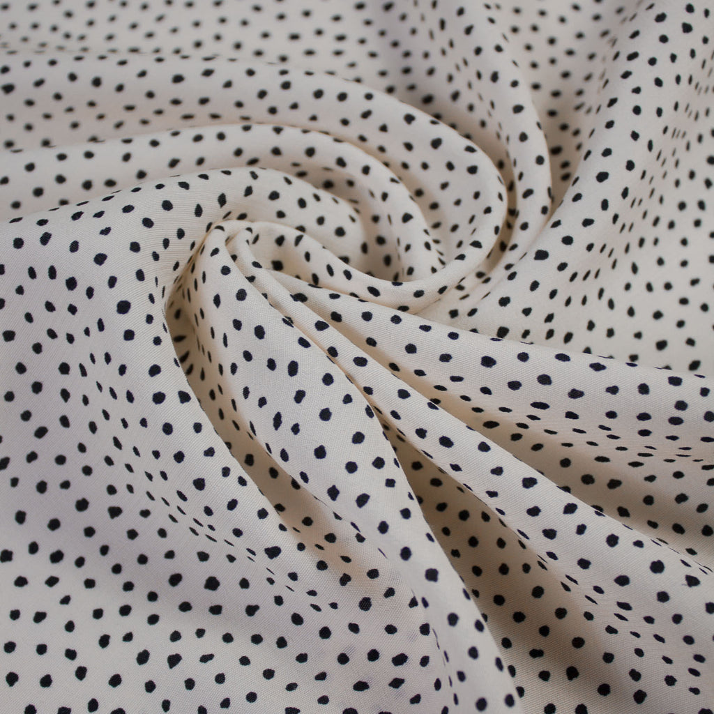 Dolly Dot Printed Viscose
