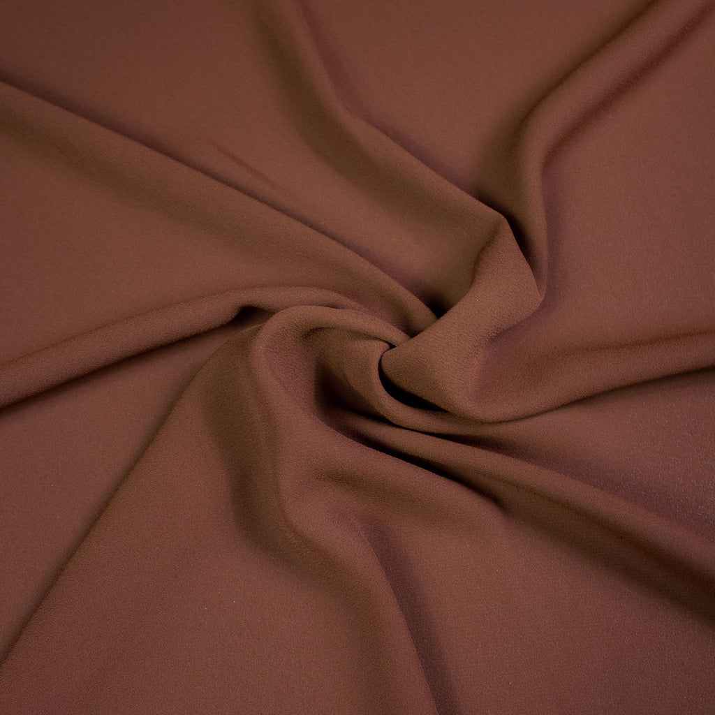 Russel Caramel Polyester Voile
