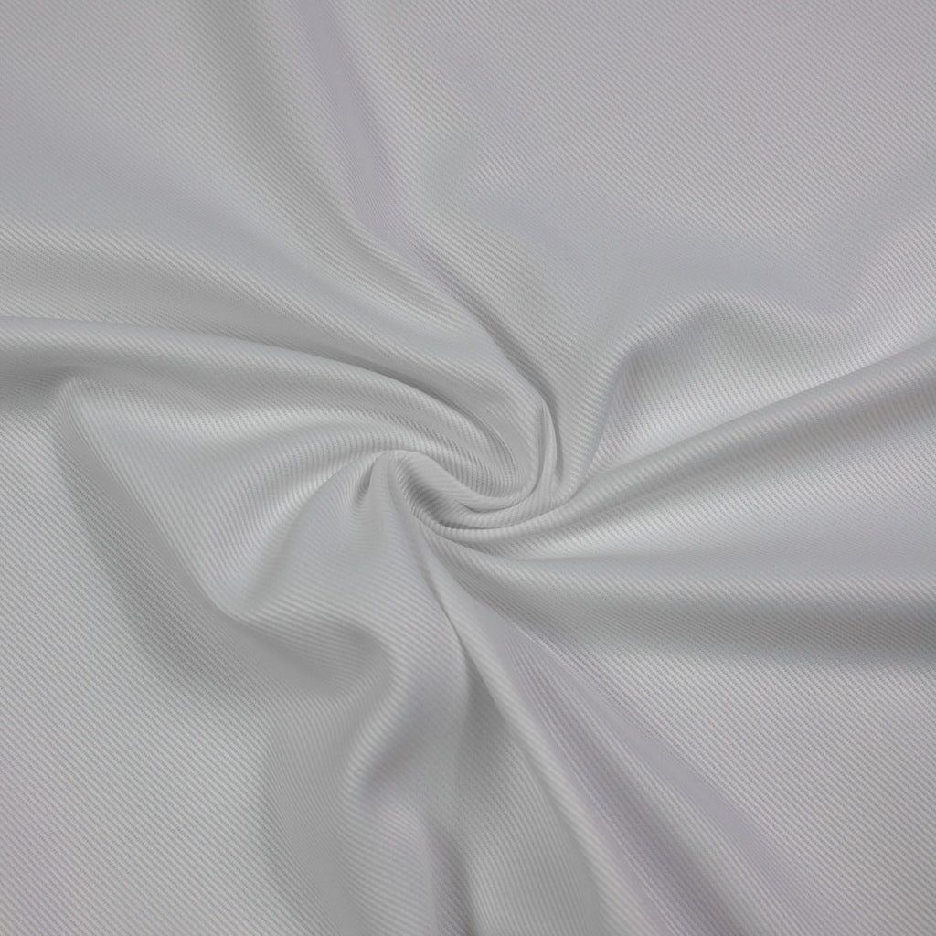 White Gabardine Cotton