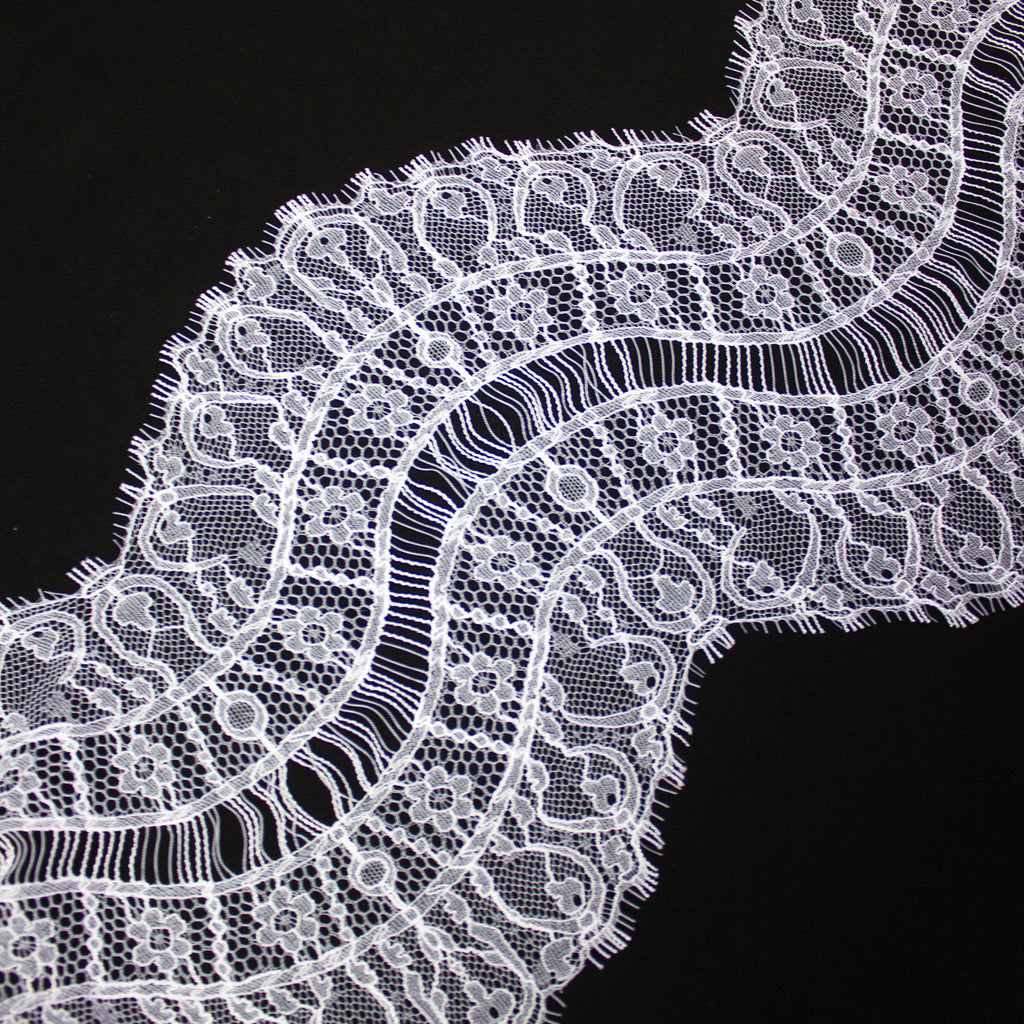 White Galon Haute Couture Lace