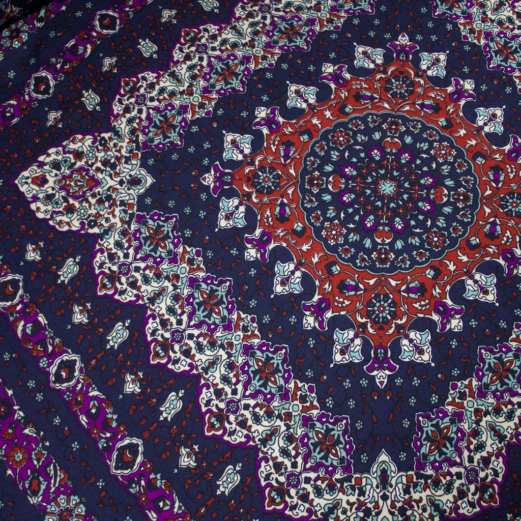 Bohemian Summer Print Viscose and Cotton Blend