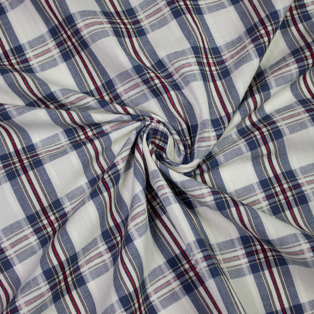Kathya Multicolour Plaid Cotton
