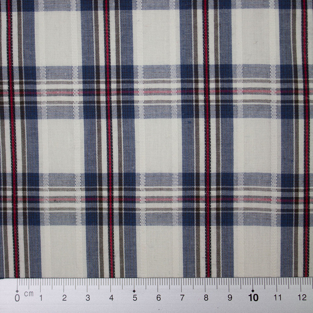 Kathya Multicolour Tartan Cotton