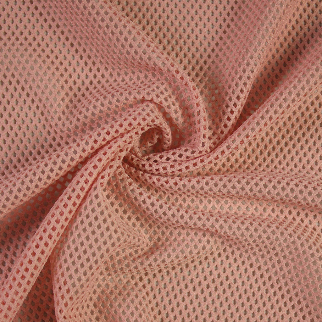 Old Pink Stretch Netting