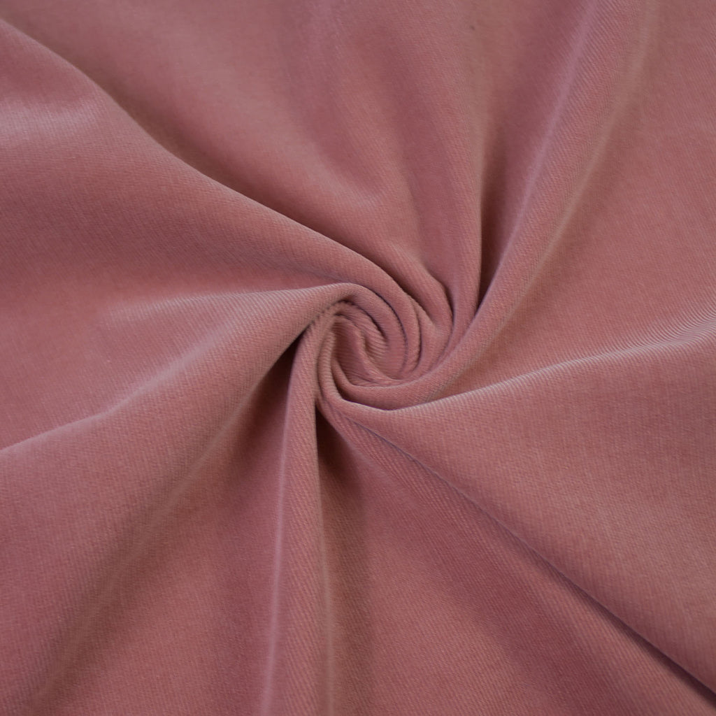 Mona Old Pink Cotton Corduroy