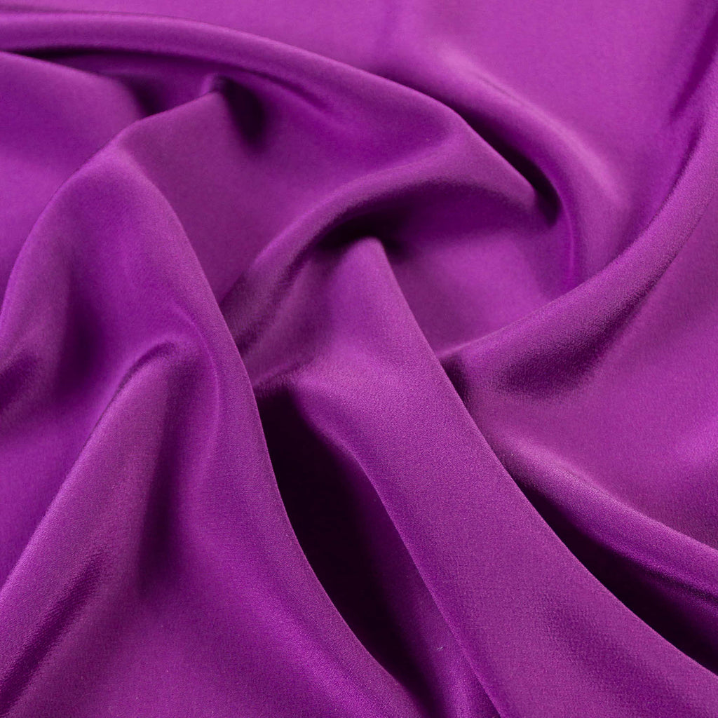 Purple Silk Haute Couture
