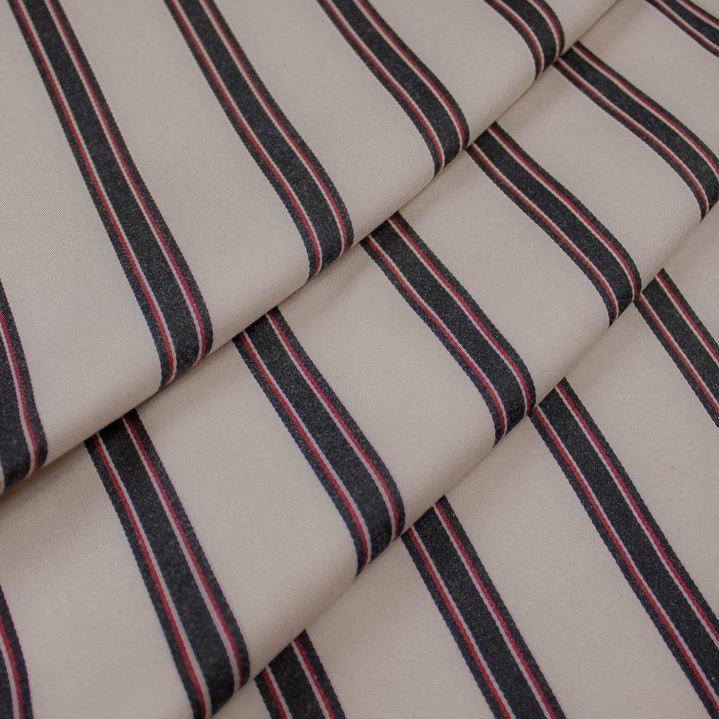 Dean Striped Cotton Stretch