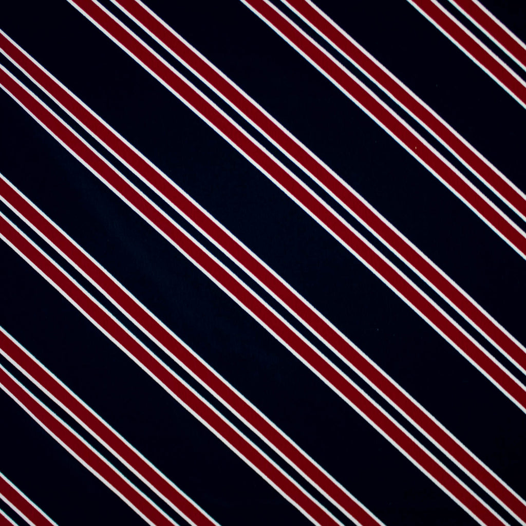 Brielle Diagonal Striped Viscose