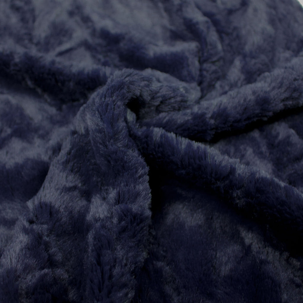 Giman Blue Faux Fur