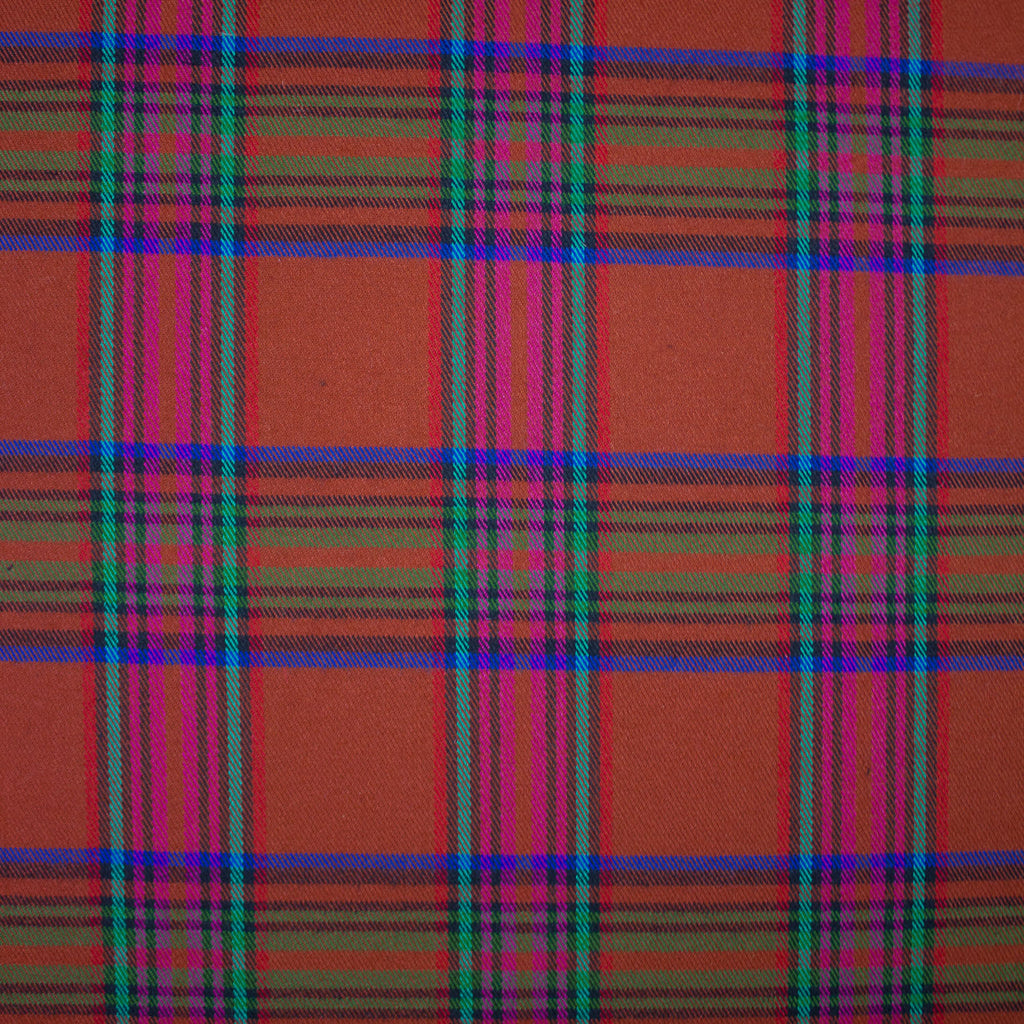 Matiss Rust Plaid Viscose Blend