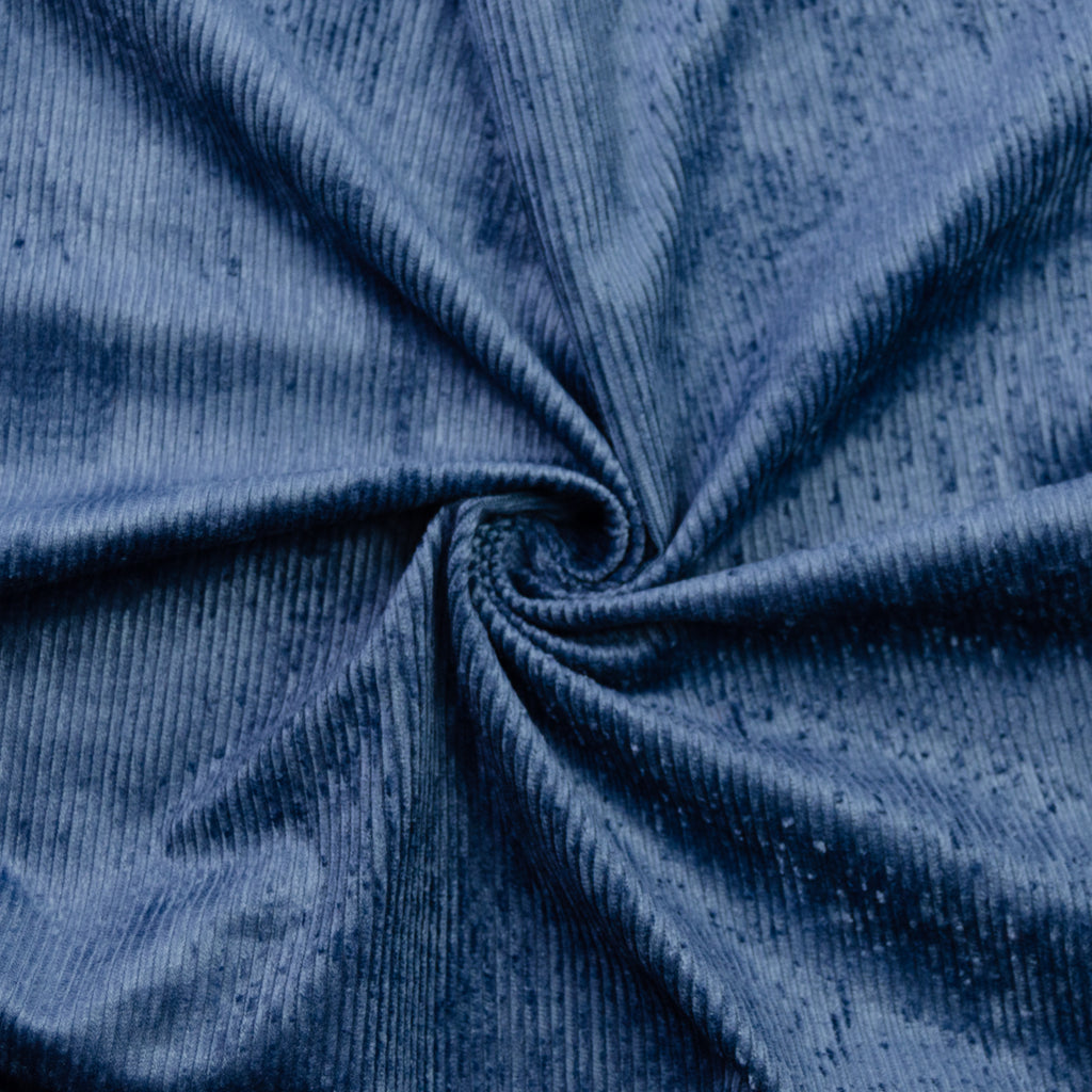 Cade Blue Stretch Corduroy