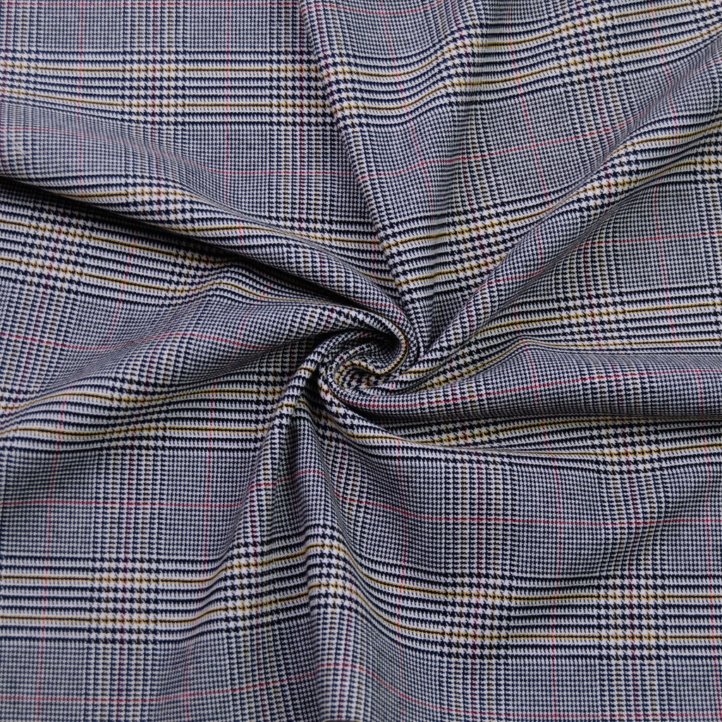 Cael Viënna Prince De Galle Wool Stretch