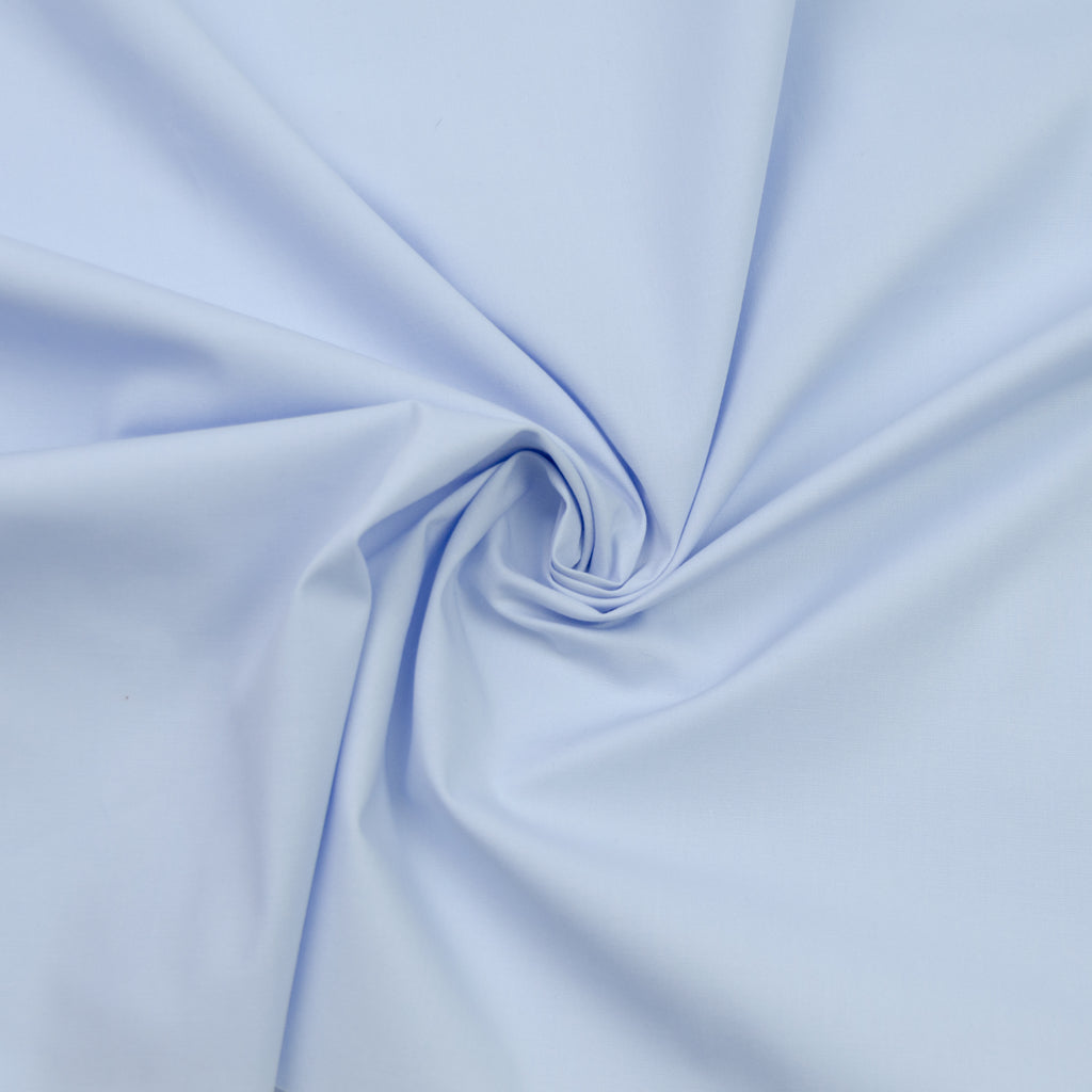 Matia Light Blue Cotton Stretch