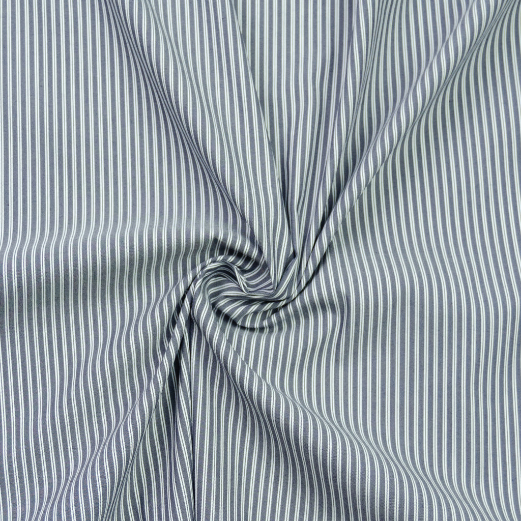 Mandy Striped Cotton Stretch